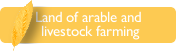 Land of arable and livestock farming